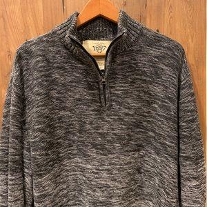 Men's 1/4 zip Sweater